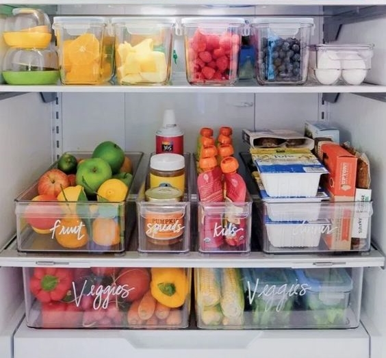 Comment organiser le réfrigérateur?