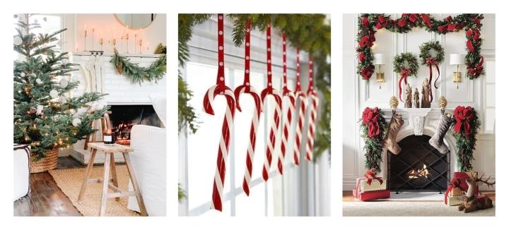 Décoration de Noël, inspiration avec 3 thèmesdifférent